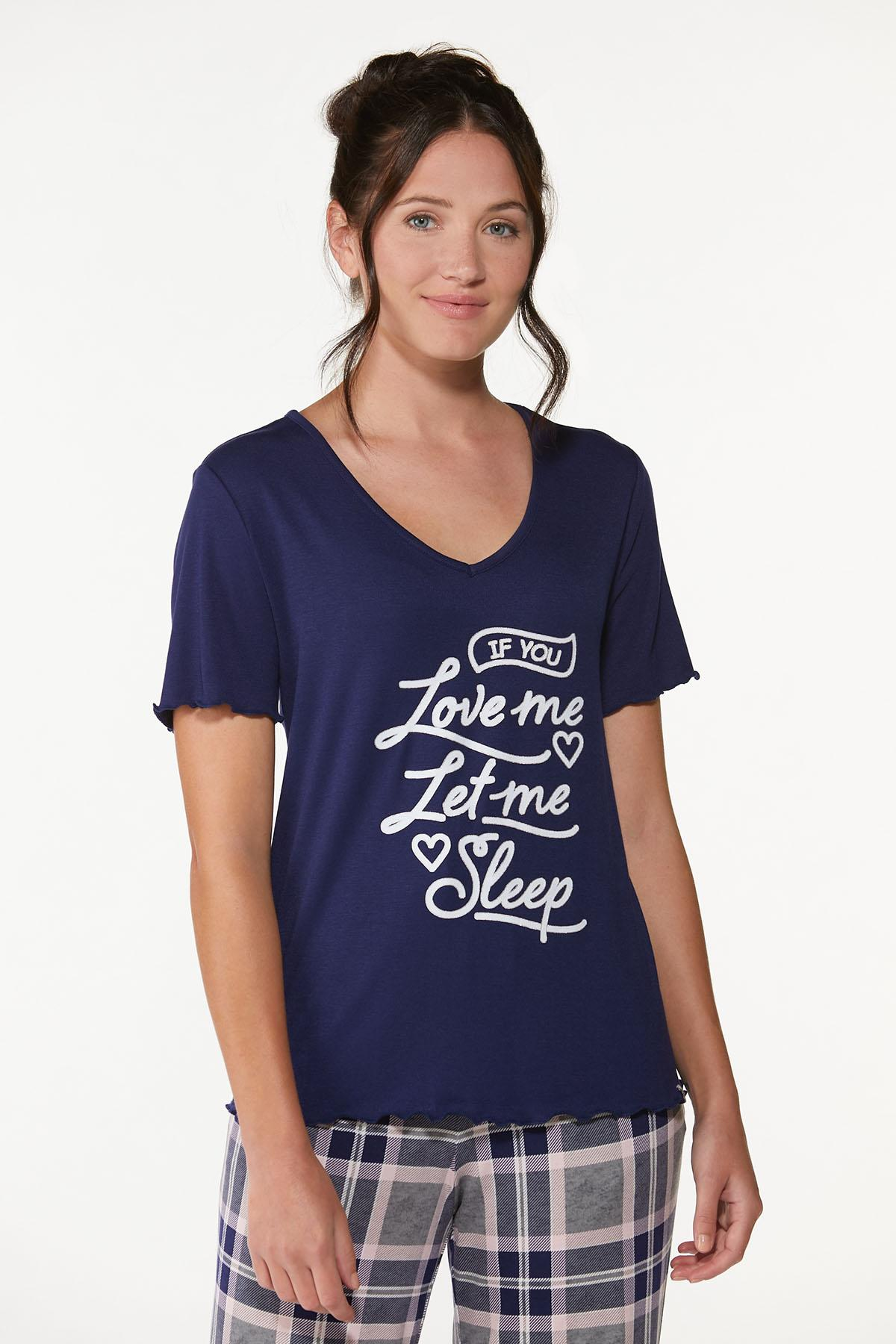 Let Me Sleep Tee