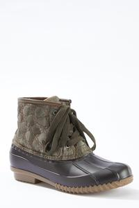 Camo Duck Boots