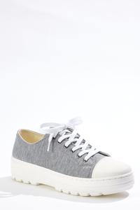 Cap Toe Lug Sneakers