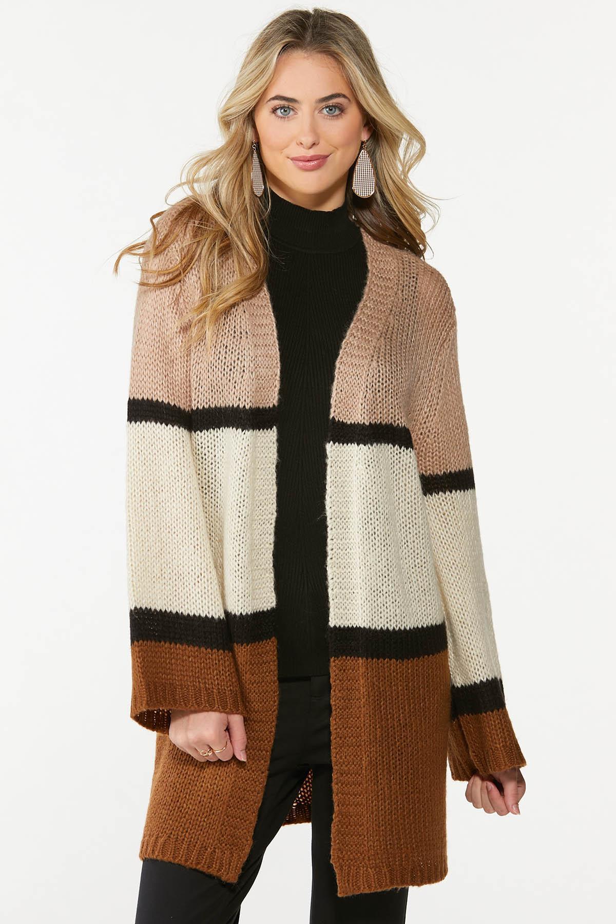 Caramel Cream Cardigan Sweater