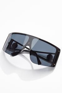 Black Shield Sunglasses