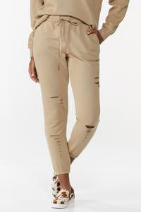 Distressed Lounge Joggers