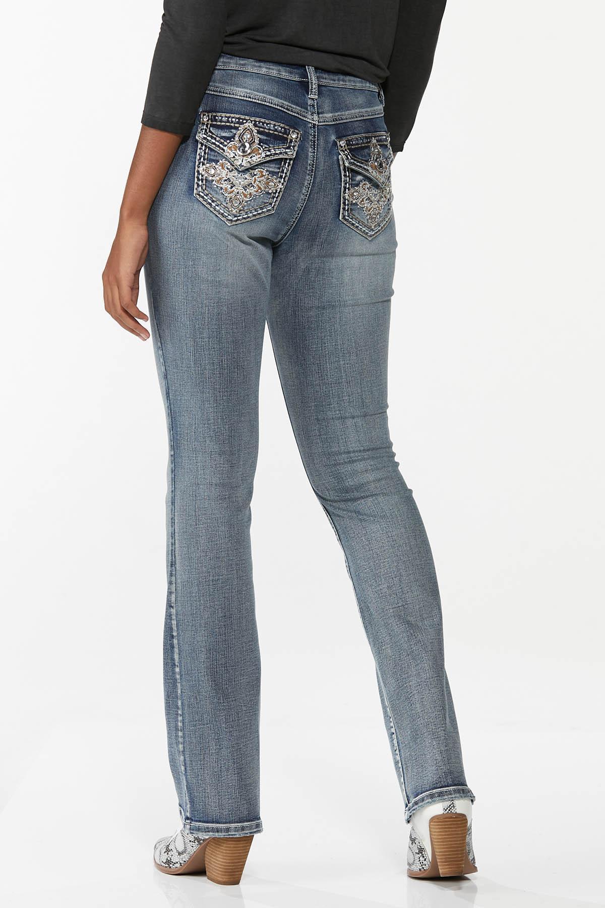 Embellished Curvy Jeans