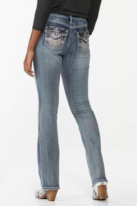 Petite Embellished Curvy Jeans