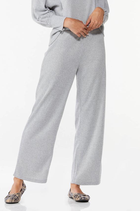 Soft Ribbed Pants