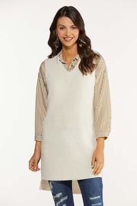 Plus Size Pullover Sweater Vest
