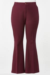 Plus Size Getaway Flare Leg Pants