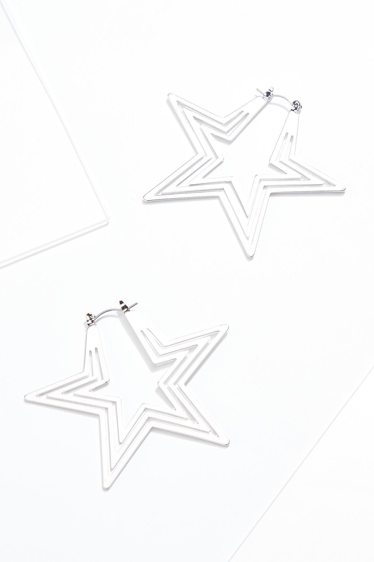 Rock Star Hoop Earrings