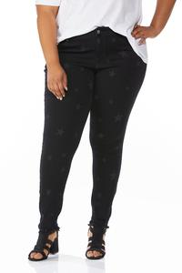 Plus Size Evening Star Jeggings