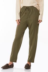 Petite Soft Olive Pants