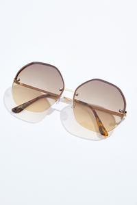 Round Lens Trendy Sunglasses