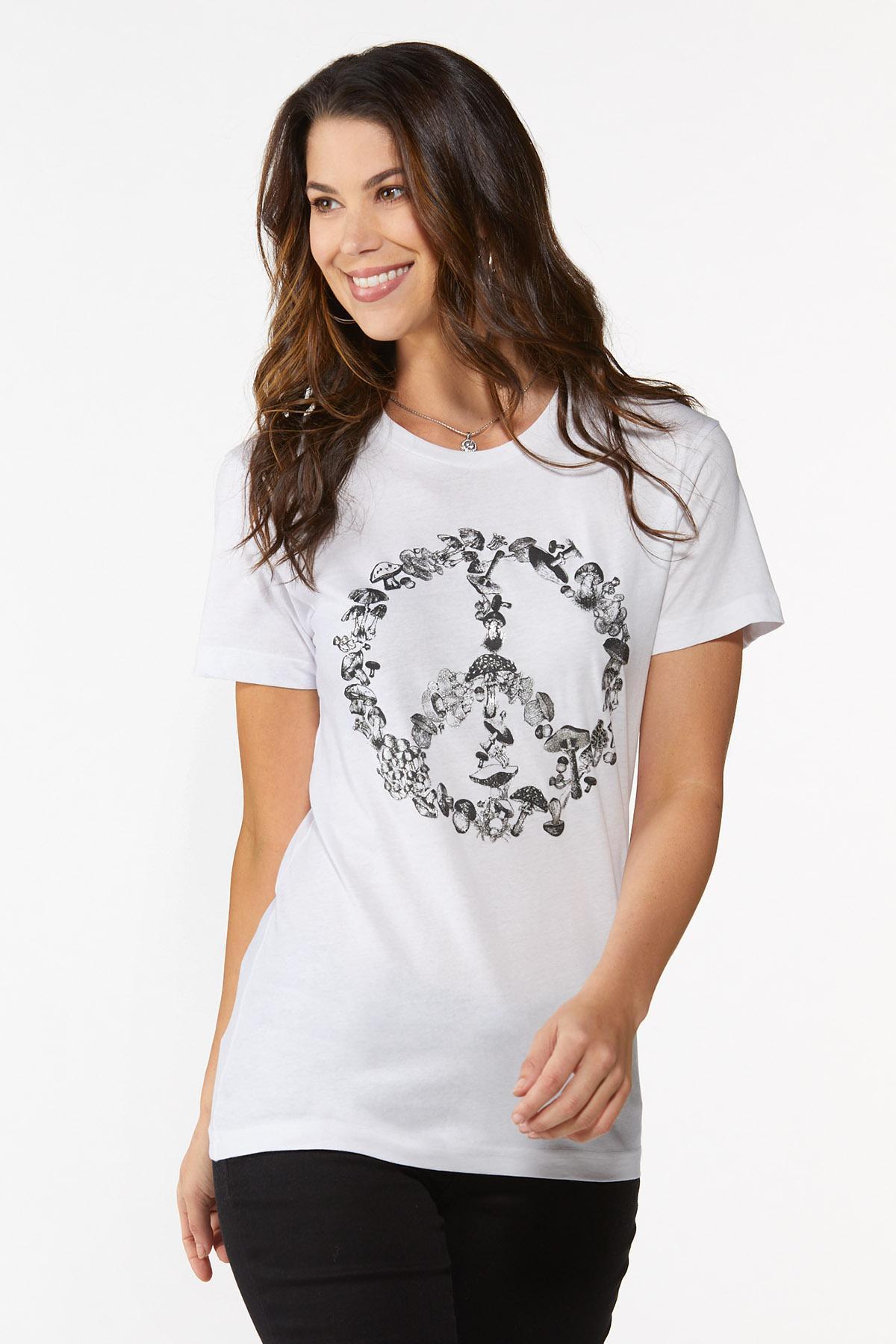 Mushroom Peace Tee