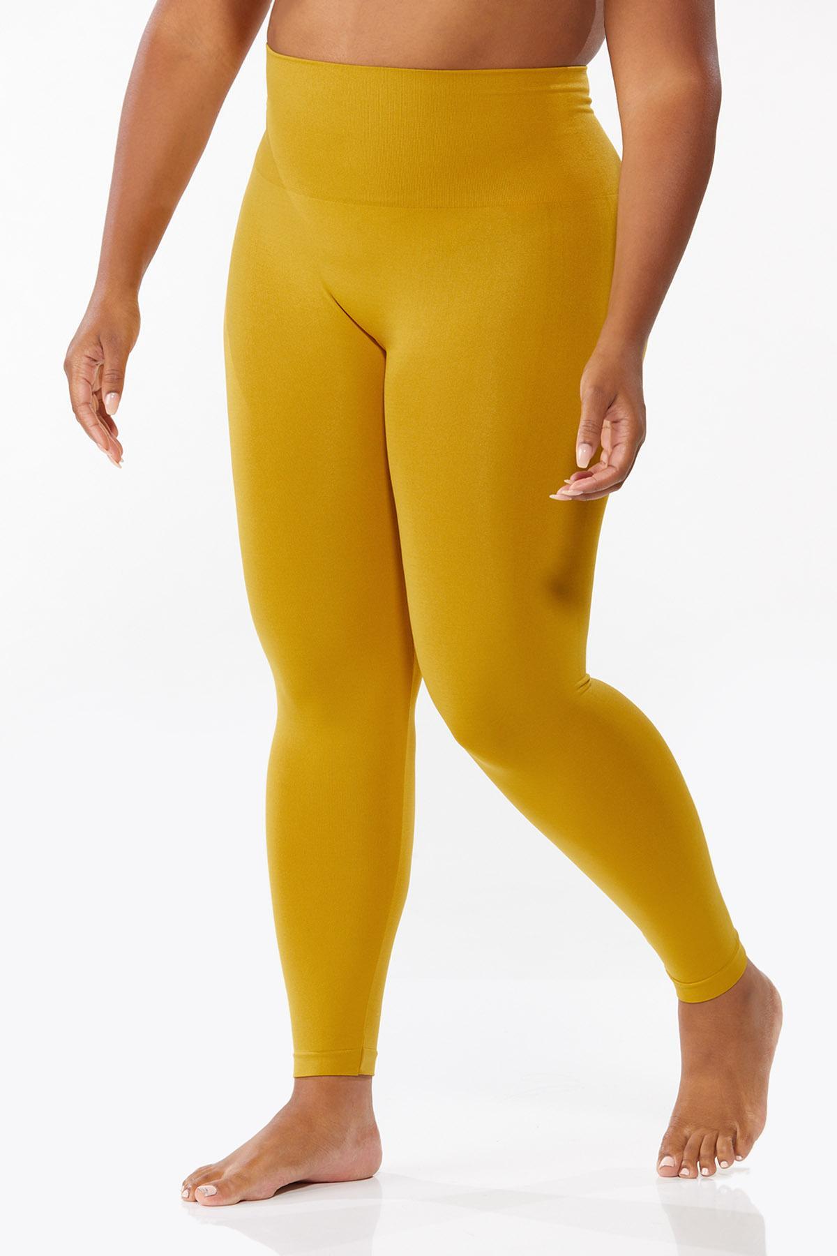 Plus Size The Perfect Golden Leggings