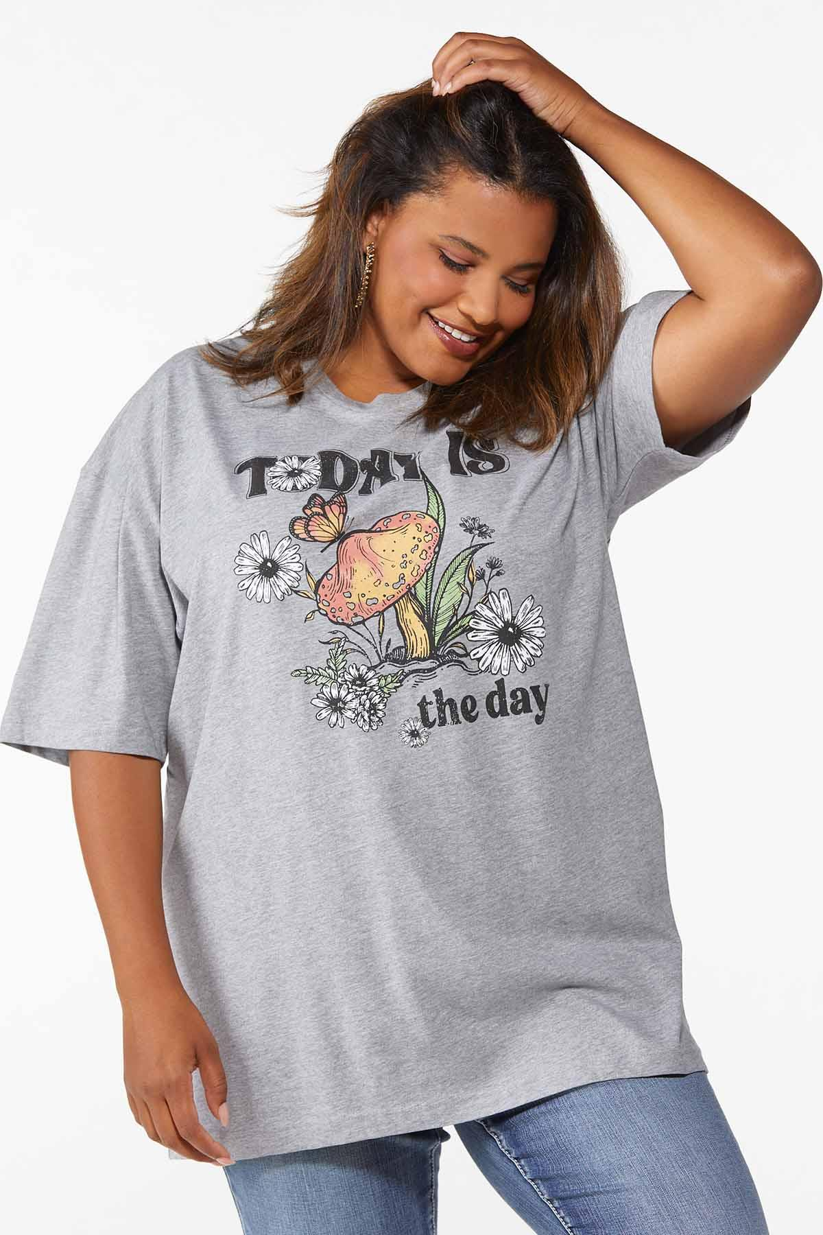 Plus Size Today Is The Day Tee