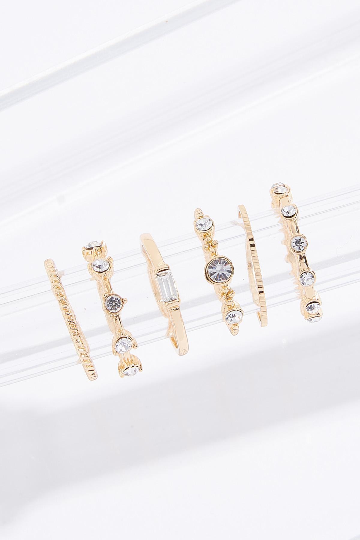 Mixed Stone Ring Set