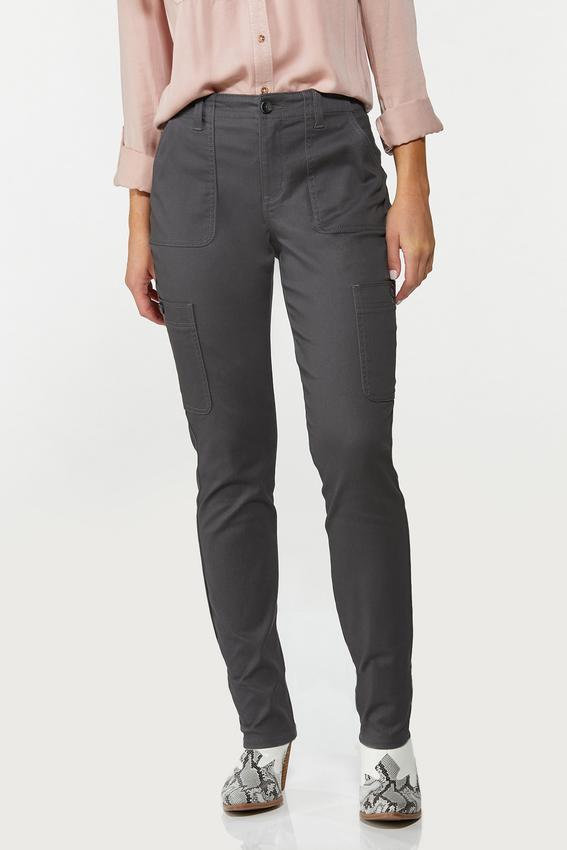 Gray Utility Pants