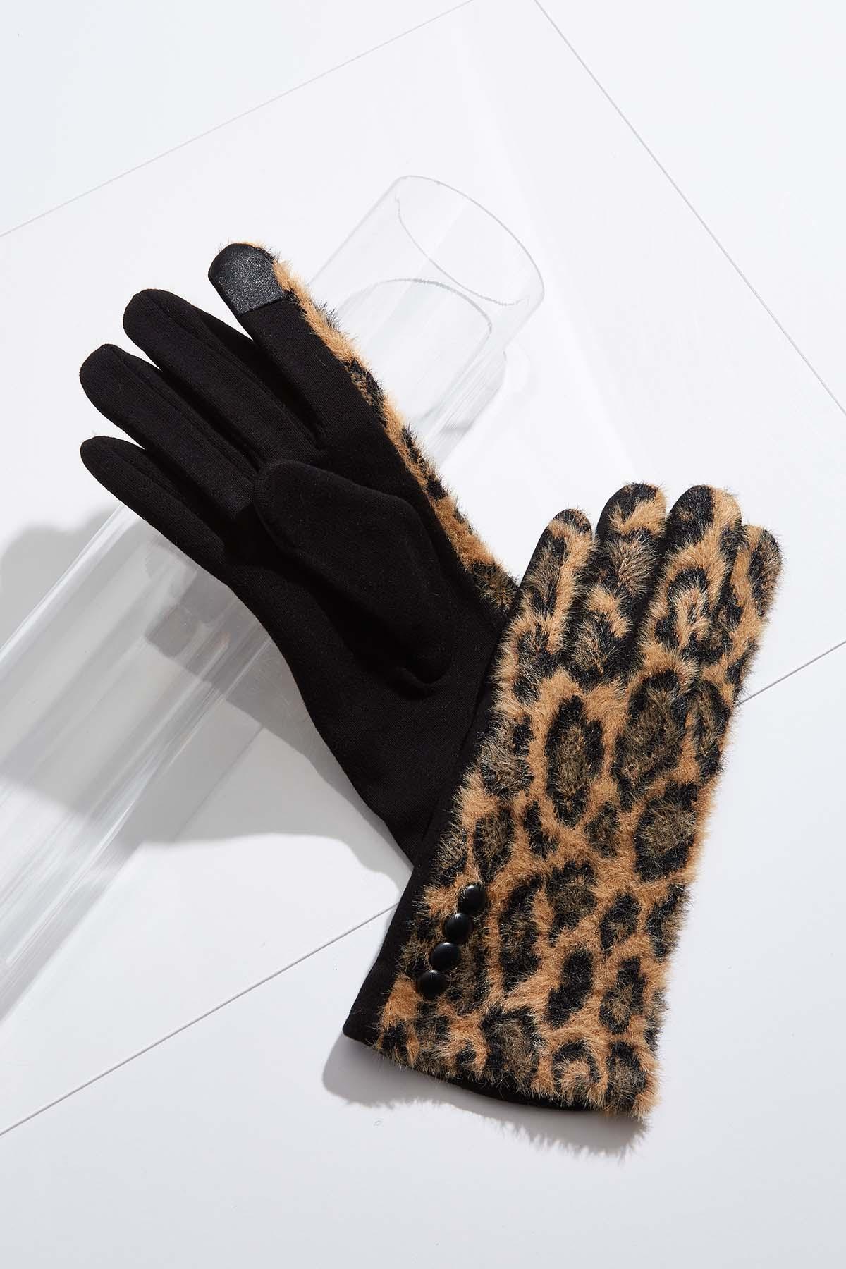 Fuzzy Animal Gloves