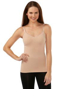 Seamless Nude Ribbed Shapewear Cami-Plus
