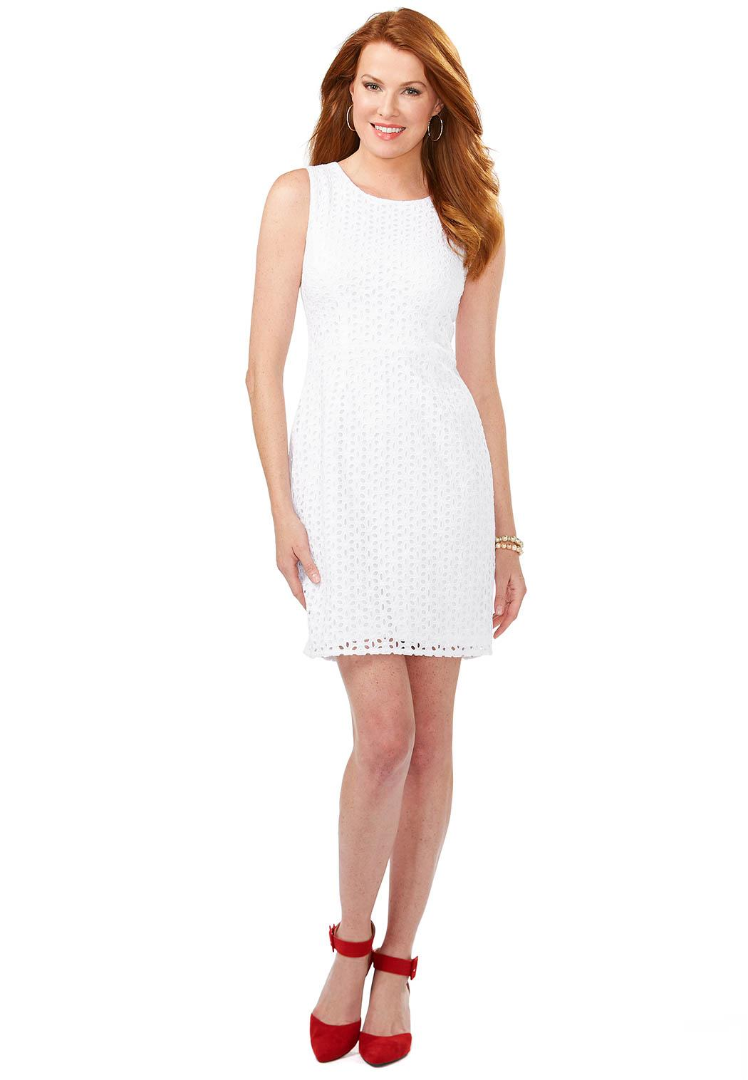 Cato Fashions Online Payments Eyelet Lace Sheath Dress Plus