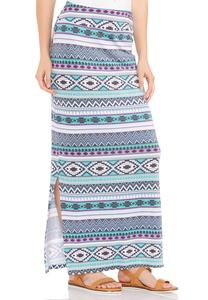 Cato Fashions Plus Size Skirts Print Maxi Skirt Plus