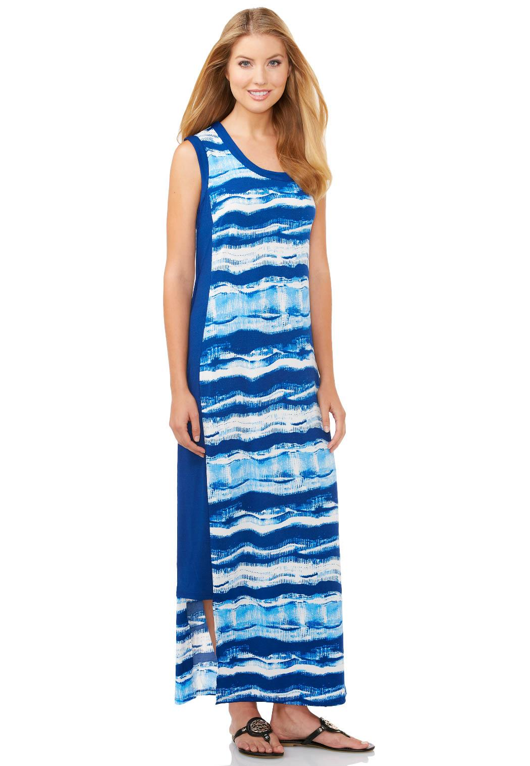 Cato Fashions Online Payments Cutout Hem Maxi Dress Plus