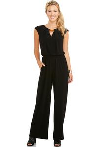 Http Cato Fashions Plus Sizes Cutout Neck Jumpsuit Plus