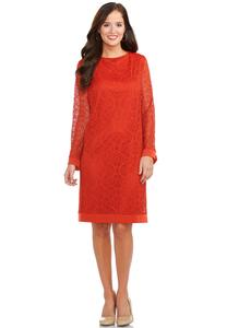 Catofashions.com Dresses Crochet Shift Dress Plus