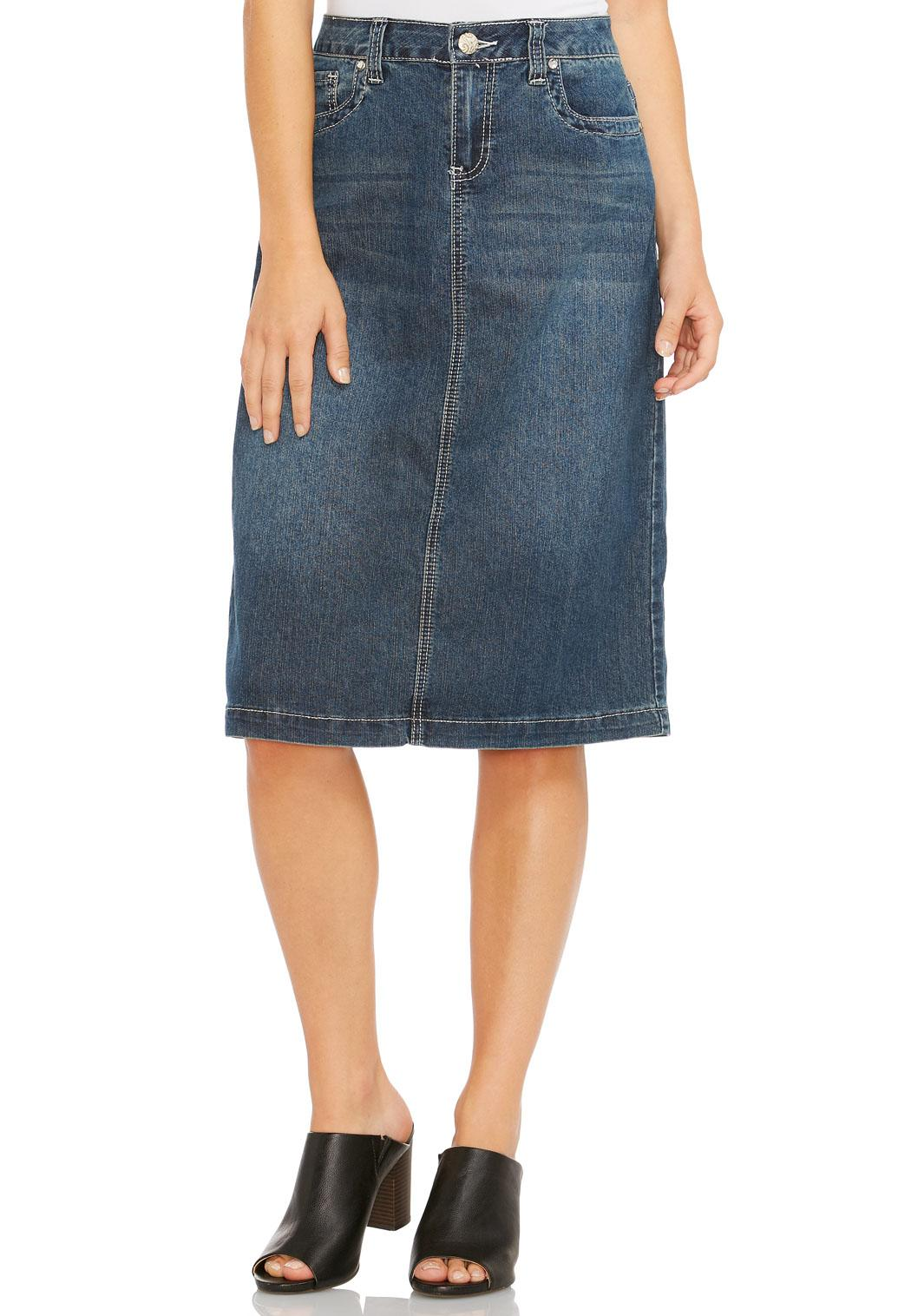 bling pocket denim skirt skirts cato fashions
