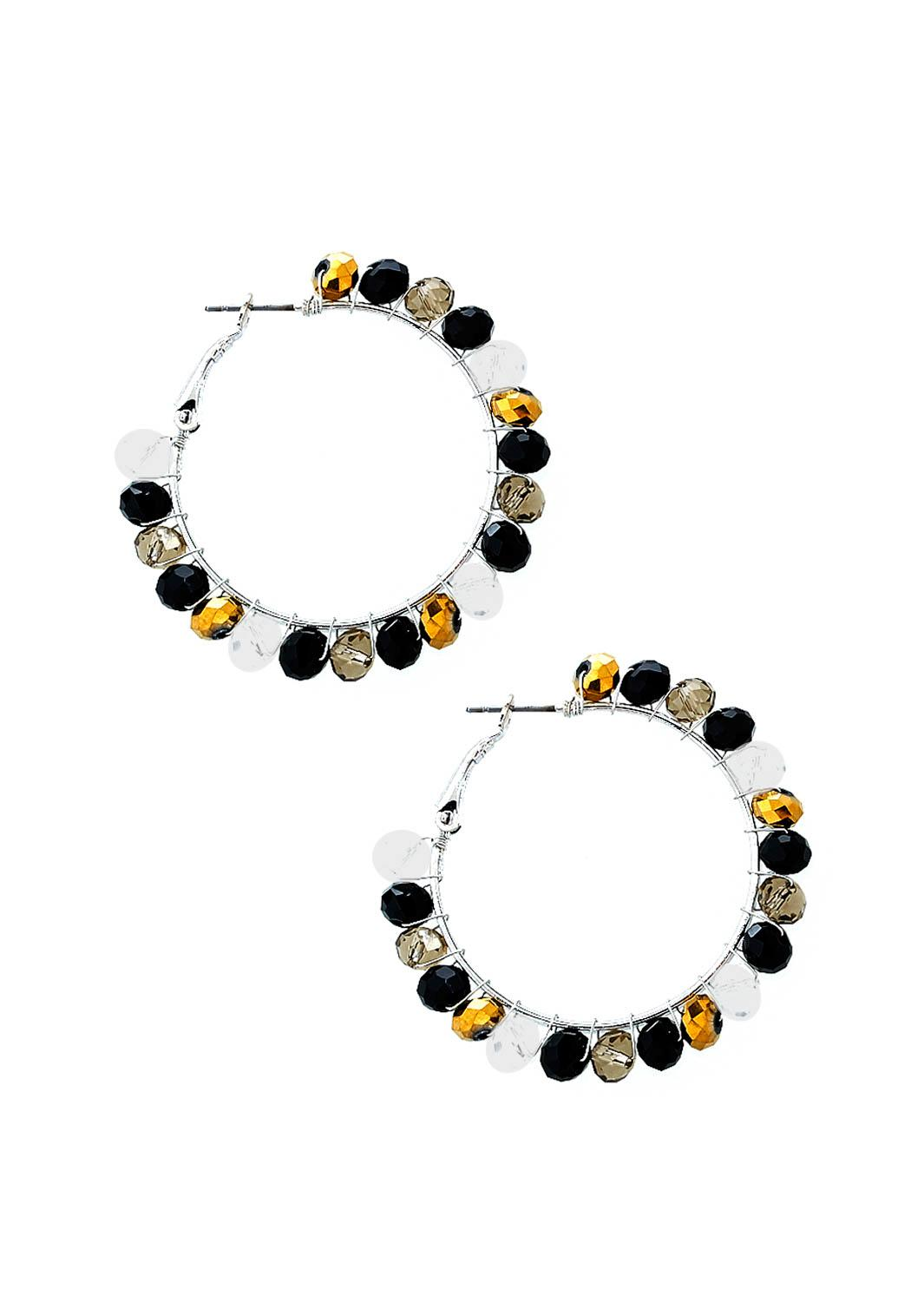 Cato Fashions Store Locations Corsicana Beaded Hoop Earrings