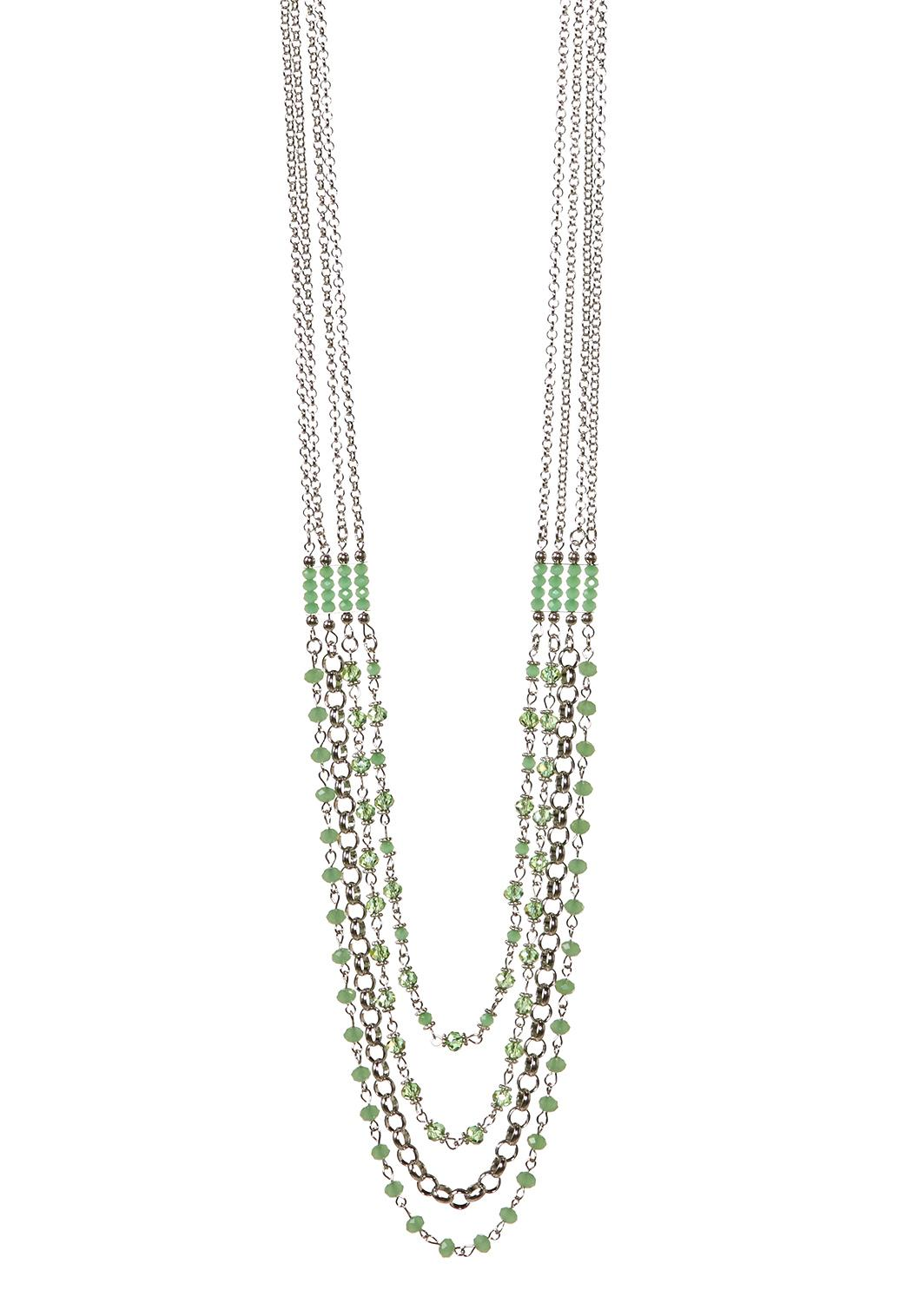 long layered bead necklace necklaces cato fashions. Black Bedroom Furniture Sets. Home Design Ideas