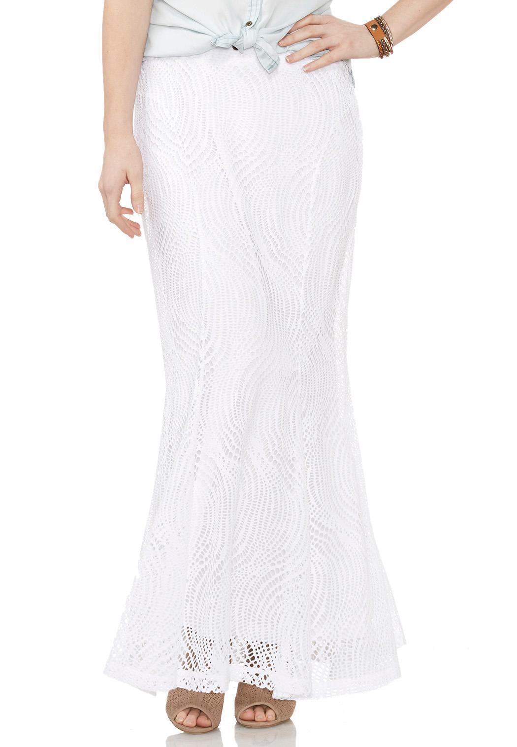 lace mermaid maxi skirt skirts cato fashions