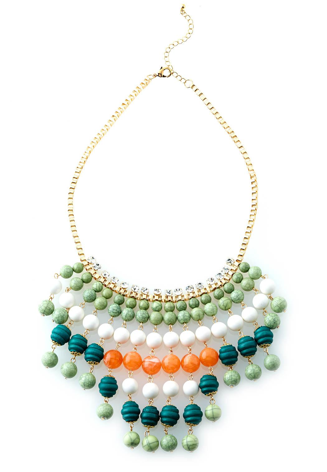 Cato Fashions Online Catalog Women Beaded Bib Necklace