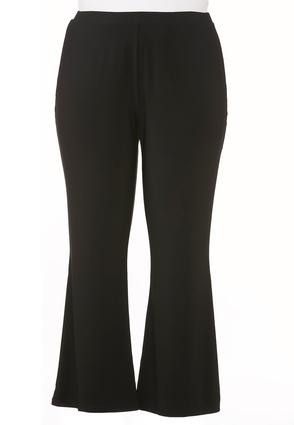 Pull- On Flare Pants- Plus