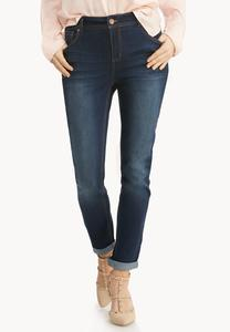 Cuffed So Soft Stretch Ankle Jeans