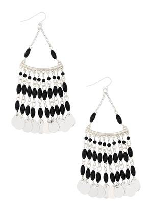 Shaky Charm Chandelier Earrings