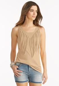 Knotted Fringe Tank