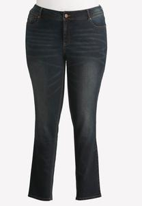 Curvy Fit Skinny Jeans-Plus