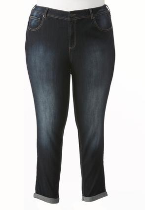 So Soft Stretch Skinny Ankle Jeans- Plus