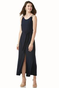 Center Slit Maxi Dress