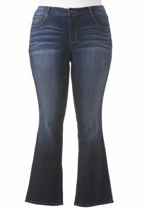 Classic Fit Bootcut Jeans-Plus