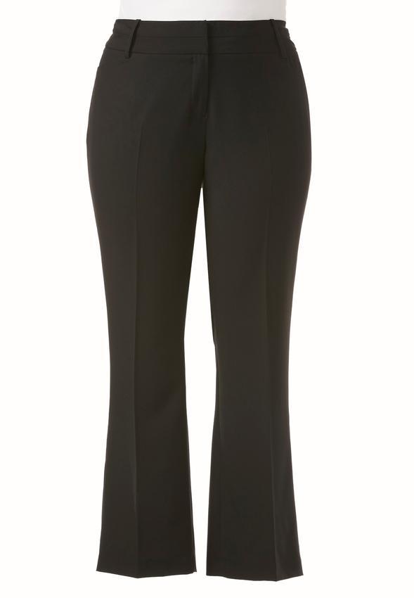 Shape Enhancing Essential Trousers-Plus Petite