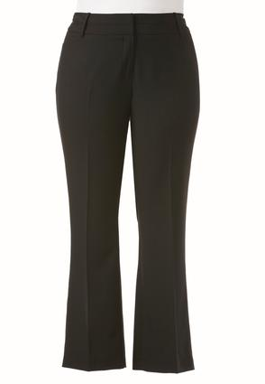 Shape Enhancing Essential Trousers-Plus Petite | Tuggl