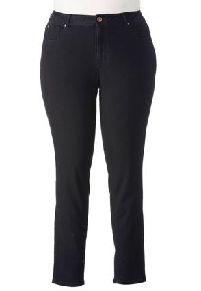 Classic Fit Skinny Jeans- Plus Ext