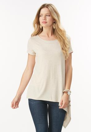 Exaggerated Asymmetrical Top- Plus