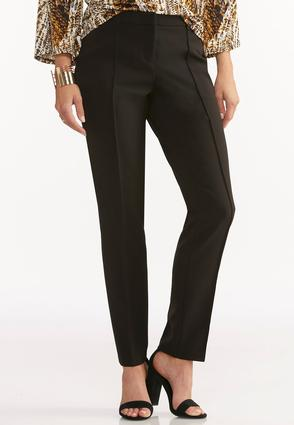 Contemporary Fit Seamed Pencil Pants