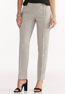 Seamed Front Pencil Pant