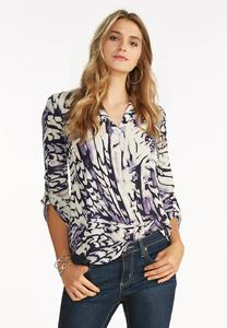 Abstract High-Low Popover Top