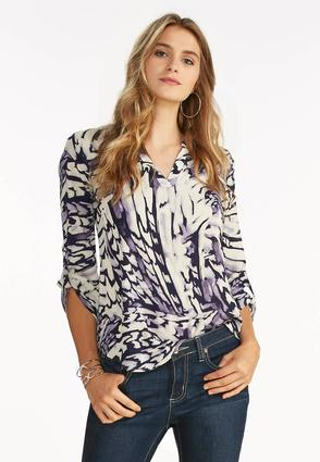 Abstract High- Low Popover Top- Plus