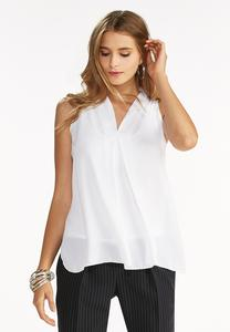 Center Pleat High-Low Tank
