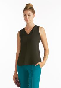 Sheer Trim High-Low Tank